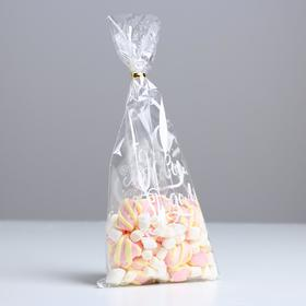 Пакет подарочный пластиковый «С Новым Годом», 15 х 30 см