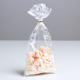 Пакет подарочный пластиковый «Новогоднее украшение», 15 х 30 см