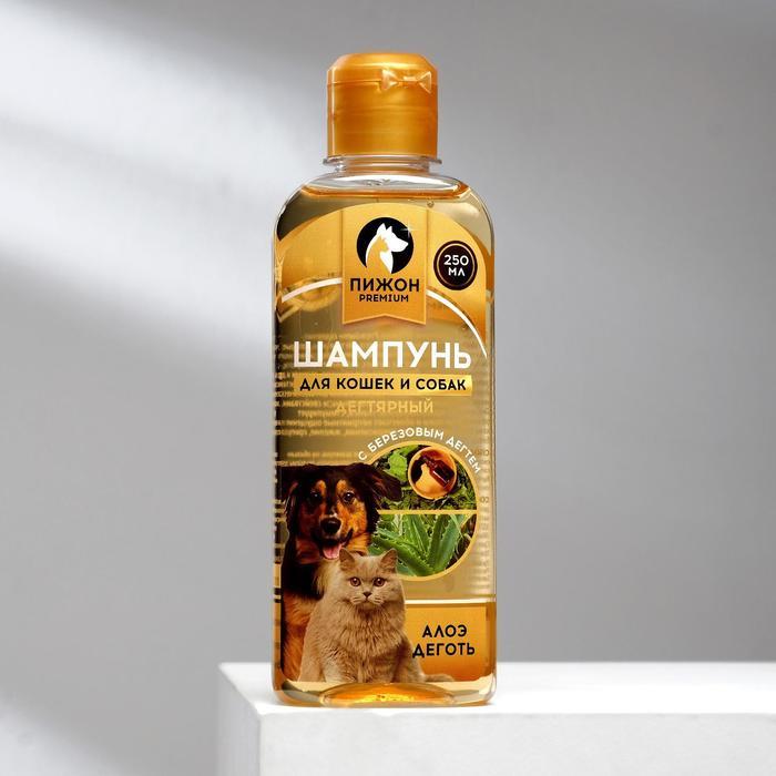 """Дегтярный шампунь """"Пижон Premium"""" для кошек и собак, 250 мл"""
