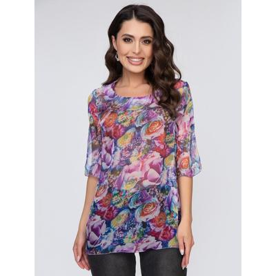 Блуза женская «Вуалет», размер 44 - Фото 1