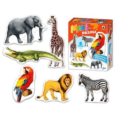 Макси-пазлы «Африканские животные» - Фото 1