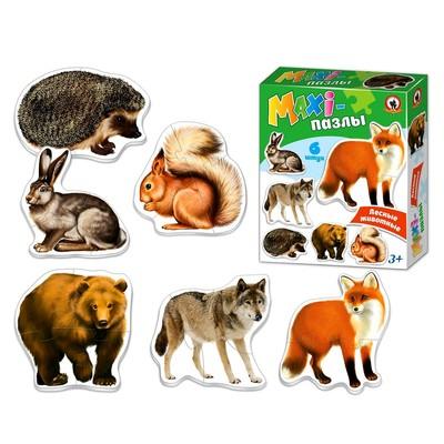 Макси-пазлы «Лесные животные» - Фото 1
