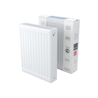 Радиатор стальной STI C 22, 500 x 500 мм, 1066 Вт, боковое подключение