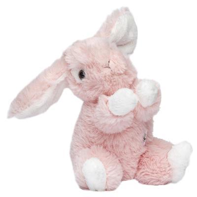Мягкая игрушка «Заяц», розовый 16 см - Фото 1