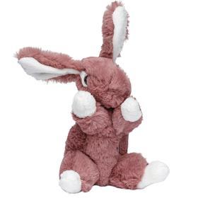 Мягкая игрушка «Кролик темно-розовый», 16 см