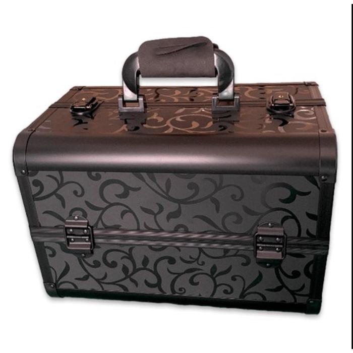 Бьюти кейс для косметики CWB7350, цвет чёрный