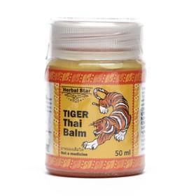 Тайский бальзам Herbal Star «Тигр», при болях в мышцах и суставах, от укусов насекомых, 50 мл