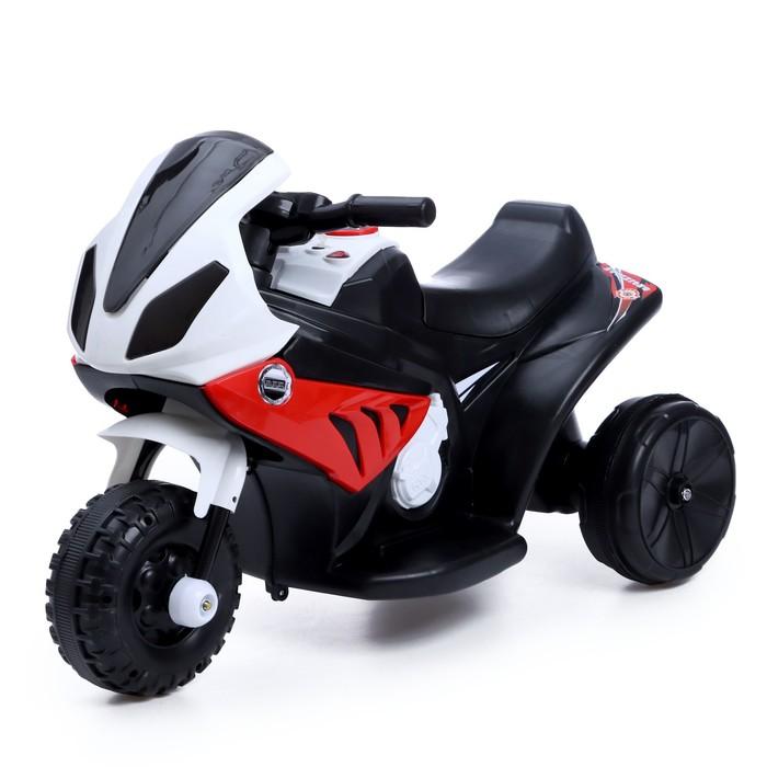 Детский электромобиль Байк, цвет красный