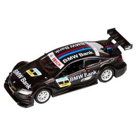 Машина металлическая BMW M3 DTM 1:42, инерция открываются двери, цвет чёрный