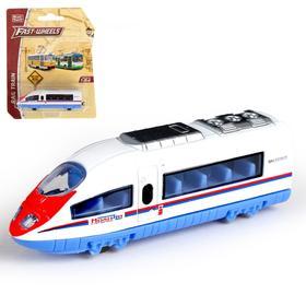 Поезд металлический «Скорость», масштаб 1:64