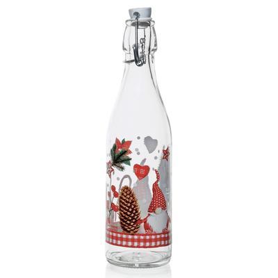 Бутылка «Рождественский Гном», 500 мл, с бугельной крышкой - Фото 1