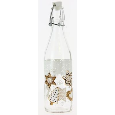 Бутылка «Рождественское печенье», 500 мл, с бугельной крышкой - Фото 1