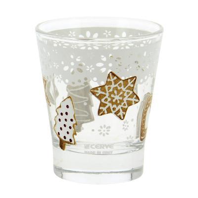 Набор стаканов «Рождественское печенье» 250 мл, 3 шт, в п/у - Фото 1