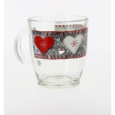 Чашка «Войлочные сердечки» 380 мл - Фото 1