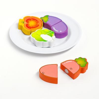 Продукты на липучке. Овощи