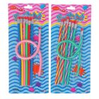 Набор карандашей чернографитных, гнущиеся, с ластиками, 7 шт., на блистере, МИКС
