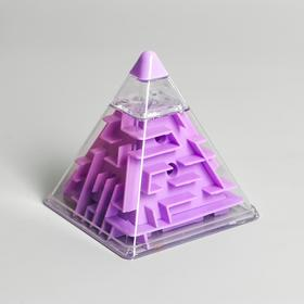 Головоломка «Пирамида», цвета МИКС