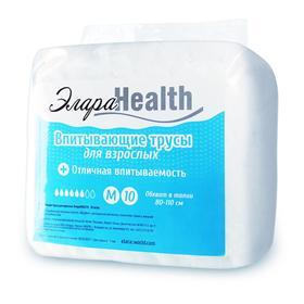 Подгузники-трусики для взрослых ЭлараHEALTH - M, 10шт