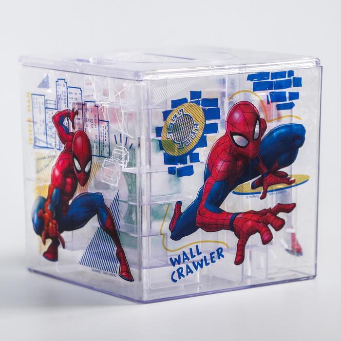 Копилка-лабиринт, Человек-паук