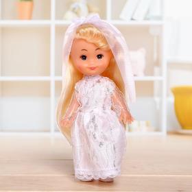 Кукла классическая «Крошка Сью», в платье, 17 см, МИКС Ош