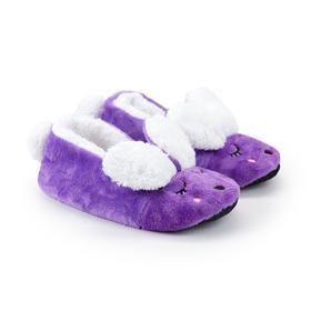Тапочки женские, цвет фиолетовый, размер 36-37