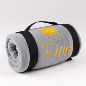 """Плед """"Этель"""" King130х150 см, 100% п/э, флис 175 гр/м2"""