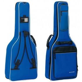 Чехол для классической гитары GEWA Premium 20 Classic 4/4 Blue, утеплитель 20 мм