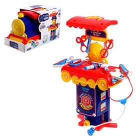 Игровой набор «Доктор» в чемодане-паровозе Ош