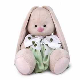 Мягкая игрушка «Зайка Ми в платье с бантом», 18 см