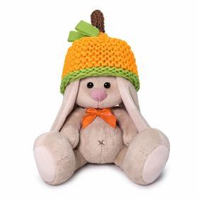 Мягкая игрушка «Зайка Ми в шапке - мандарин», 15 см