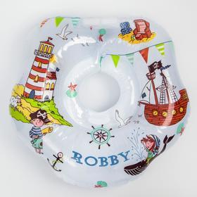 Надувной круг на шею для купания малышей Robby, «Пираты»
