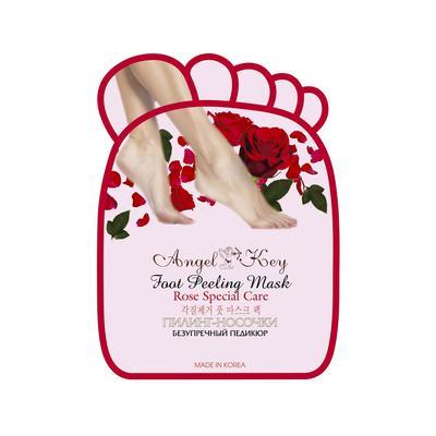 Пилинг-носочки Angel Key с экстрактом розы, 40 г - Фото 1