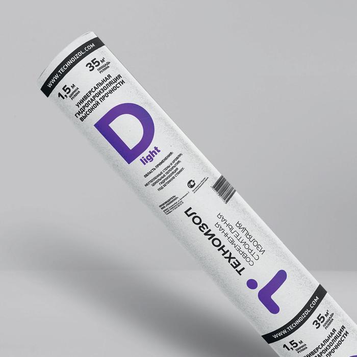 Универсальная гидропароизоляция высокой прочности Техноизол Лайт D 35 м2