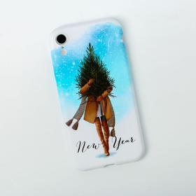 Чехол для телефона iPhone XR «Новый Год», 7,6 × 15,1 см