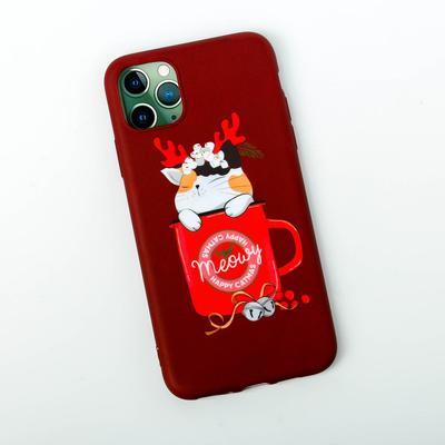 Чехол для телефона iPhone pro max «Котик с рожками», 7,8 × 15,8 см - Фото 1