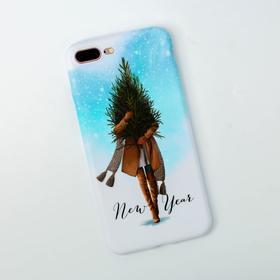 Чехол для телефона iPhone 7,8 plus «Новый Год», 7,7 × 15,8 см