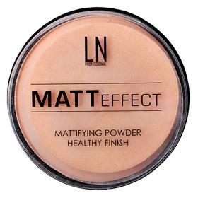 Пудра LN Professional Matt Effect, оттенок №101