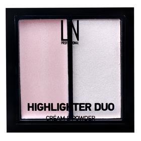 Хайлайтер 2в1 LN Professional Duo, оттенок 101