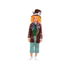 Карнавальный костюм «Безумный Шляпник», камзол, брюки, шляпа, р.32, рост 122 см