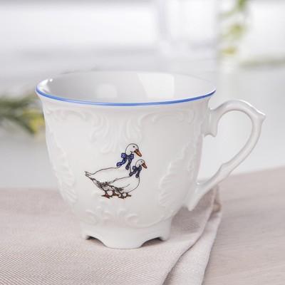 Чашка кофейная «Рококо Гуси», 170 мл - Фото 1