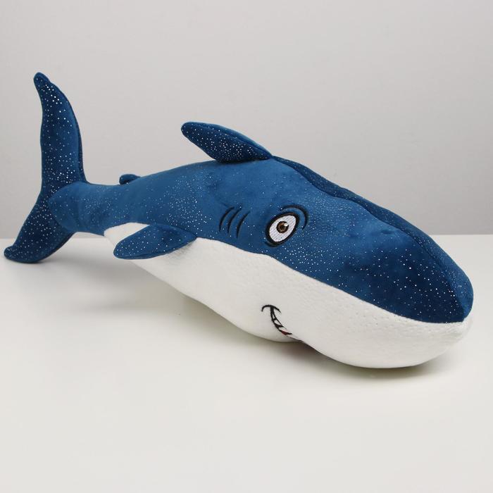 Мягкая игрушка Акула, 55 см, цвета МИКС