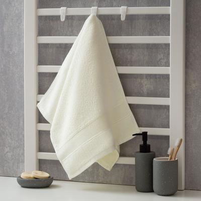 Полотенце махровое Этель «Уют» 35*75 см, цв. белый 100% хл, 600 гр/м2 - Фото 1