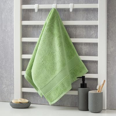 Полотенце махровое Этель «Уют» 35*75 см, цв. зеленый 100% хл, 600 гр/м2 - Фото 1