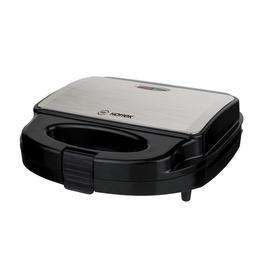 Сэндвичница HOTTEK HT-959-100, 750 Вт, антипригарное покрытие, чёрная Ош