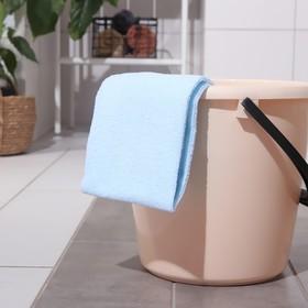 Тряпка для мытья пола мягкая Доляна, 40×60 см, 170 г/м2, цвет МИКС Ош