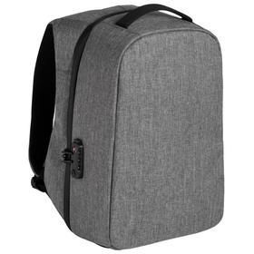 Рюкзак inGreed серый, с USB-портом