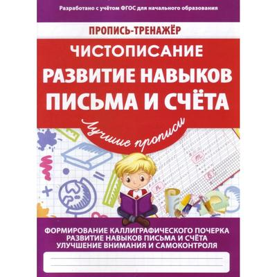 Развитие навыков письма и счёта. Пилецкий В. - Фото 1