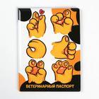 Обложка на ветеринарный паспорт «У меня лапки»