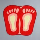 Коврик Доляна «Следы», 44×49 см, цвет МИКС - Фото 3