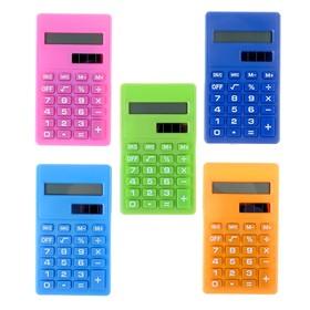 Калькулятор карманный 08-разрядный, двойное питание, МИКС Ош